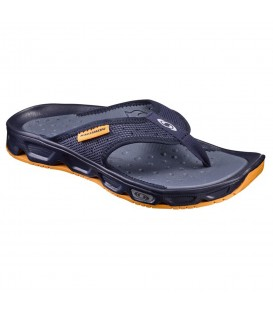 Chanclas de descanso Salomon RX Break para hombre de color azul marino. Otras chanclas de descanso de running en chemasport.es