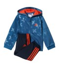 CHÁNDAL adidas STYLE SHINY FULL ZIP HOODED JOGGER