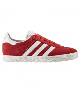 ZAPATILLAS ADIDAS GAZELLE JUNIOR BY9543 ROJO