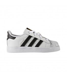 ZAPATILLAS ADIDAS SUPERSTAR INFANT BB9076 BLANCO NEGRO