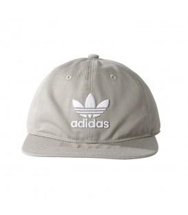 Gorra de Adidas Treoil Classic BK7282 de color gris al mejor precio en tu tienda deportiva chemasport.es