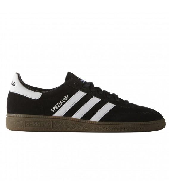 zapatillas adidas negro con blanco
