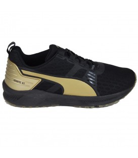 ZAPATILLAS PUMA IGNITE XT V2 GOLD WNS 18898702 NEGRO