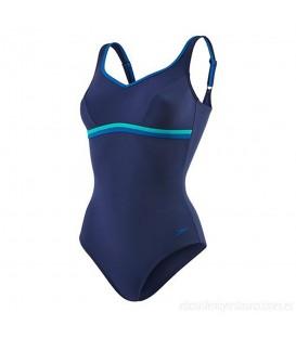 Bañador Speedo Sculpture Contourluxe 8-10417B368 para mujer en color azul marino. Bañadores de natación para mujer en chemasport.es