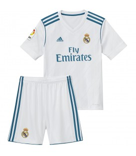 KIT ADIDAS REAL MADRID 2017/2018 HOME YOUTH