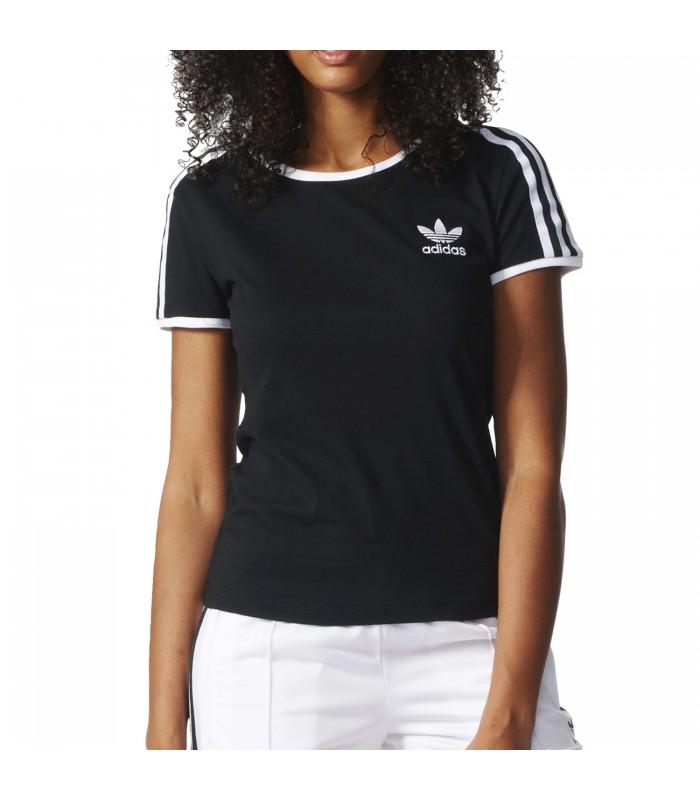 originals negra camiseta adidas mujer negra