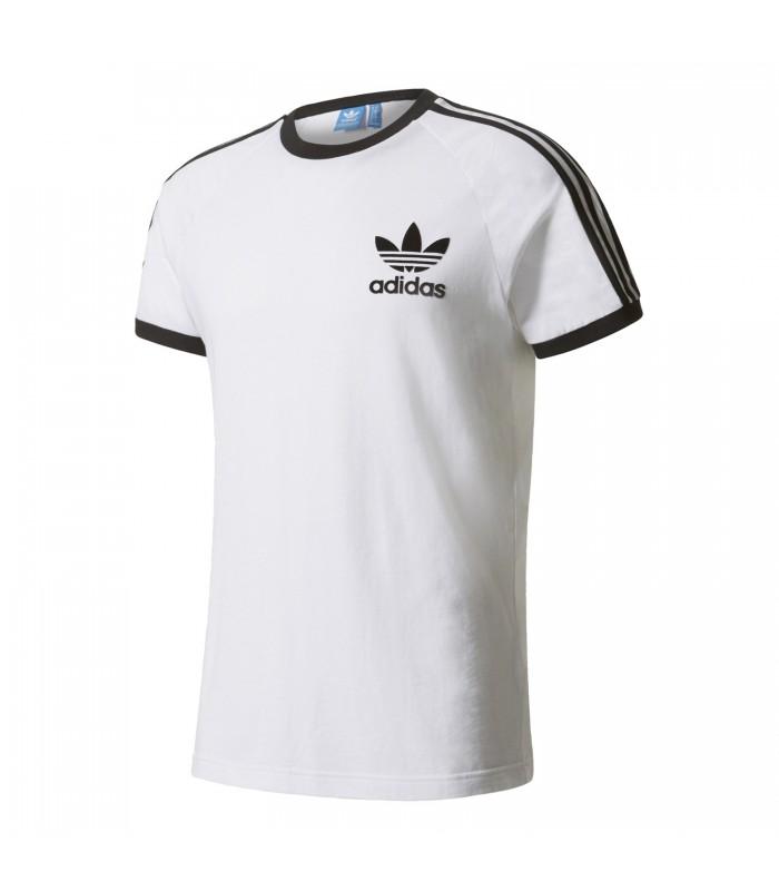 camisetas adidas hombre en blanco