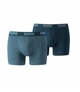 Bóxer Puma Basic 521015001 162 en color azul. Boxer Puma para hombre en Chema Sport