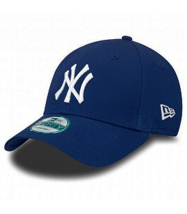 Gorra de los Yankees New Era 9Forty League Basic 11157572 ajustable en color azul. Más gorras New Era New York Yankees en chemasport.es
