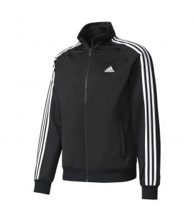 Chaqueta Adidas Essentials Track Jacket Tricot BR1024 para hombre en color negro. Chaquetas Adidas para hombre. Entra en chemasport.es y descubre nuestro catálogo.