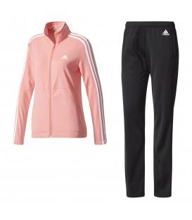 Chándal Adidas Back 2 basics 3s BQ8434 rosa. Otros modelos de chándal Adidas para mujer en Chema Sport.