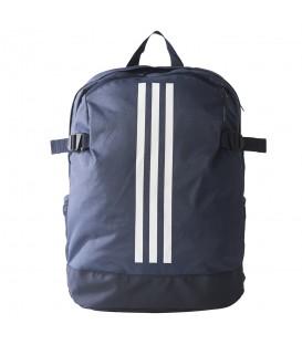 Comprar mochila para el gimnasio Adidas 3 bandas power BR1540 de color azul marino. Otras mochilas para gimnasio en chemasport.es
