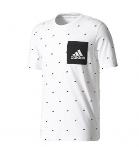 CAMISETA ADIDAS ESSENTIALS GRAPHIC POCKET TEE