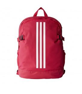 Mochila mediana Adidas 3 bandas Power CF2031 de color rosa. Mochilas Adidas en Chema Sport, entra y encuentra la tuya