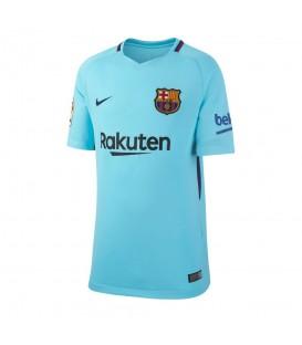 Camiseta de fútbol Nike FC Barcelona Stadium Away 847386-484 para la temporada 2017/18 para niño en Chema Sport al mejor precio