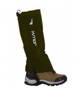 Polainas de trekking Joluvi New Elast 233802 de color verde al mejor precio en tu tienda de deportes Chema Sport.