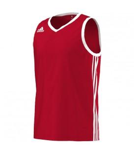 Comprar camiseta de baloncesto sin mangas Adidas Commander en color rojo al mejor precio en Chema Sport