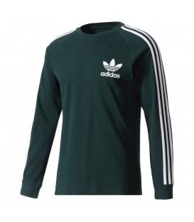Camiseta de manga larga Adidas 3 bandas piqué BR2046 para hombre. Otras camisetas de Adidas para hombre en chemasport.es
