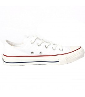 ZAPATILLAS CONVERSE ALL STAR OX MODA SPORTWEAR UNISEX BLANCO M7652C