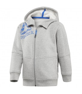 Sudadera Reebok Boys Essentials Fullzip Fleece para niño