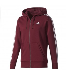 CHAQUETA ADIDAS ESSENTIALS 3S FZ HOOD FLEECE