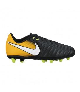 Botas de fútbol para niños Nike Tiempo Ligera VI 897724 negro y naranja. Otras botas de fútbol para niños en chemasport.es