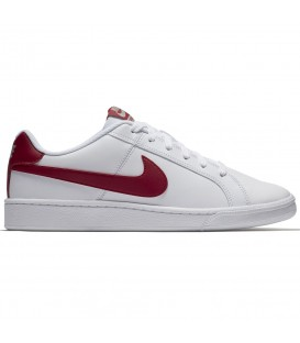 ZAPATILLAS NIKE COURT ROYALE 749747-103 BLANCO ROJO