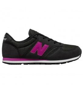 Zapatillas New Balance KL420CKY para mujer en color negro y violeta al mejor precio en chemasport.es