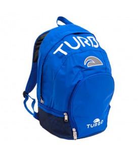 Mochila de natación Turbo Sedna 98018 de color azul. Otras mochilas de piscina disponibles en chemasport.es