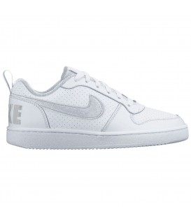 ZAPATILLAS NIKE COURT BOROUGH LOW GS 839985-100 BLANCO NIÑOS