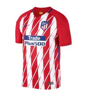 Camiseta Nike Atlético De Madrid Stadium Jersey 2017/2018 847291-612 en color rojo y blanco. Primera equipación del Atletico de Madrid en chemasport.es