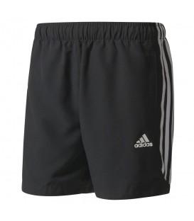 Pantalón deportivo para hombre corto Adidas EES 3Stripes Chelsea S88113 de color negro. Descubre más pantalones de entrenamiento en nuestra web. ¡Al mejor precio!