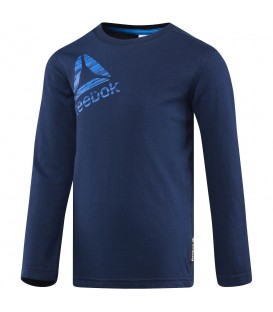 CAMISETA REEBOK BOYS ESSENTIALS MANGA LARGA