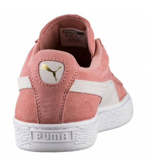 puma suede platform mujer rosa