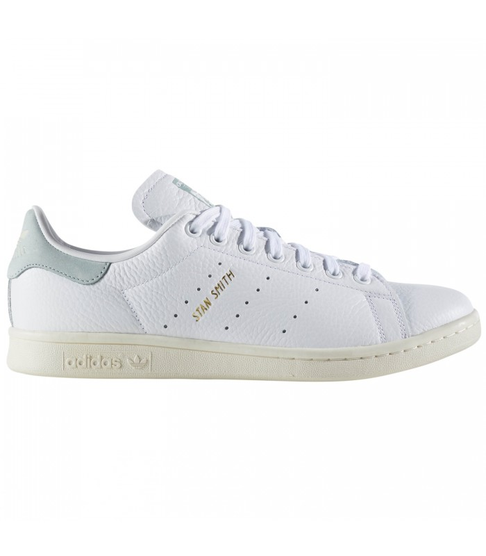 Zapatillas para mujer Adidas Stan Smith de color blanco y verde f09c7caaf56be