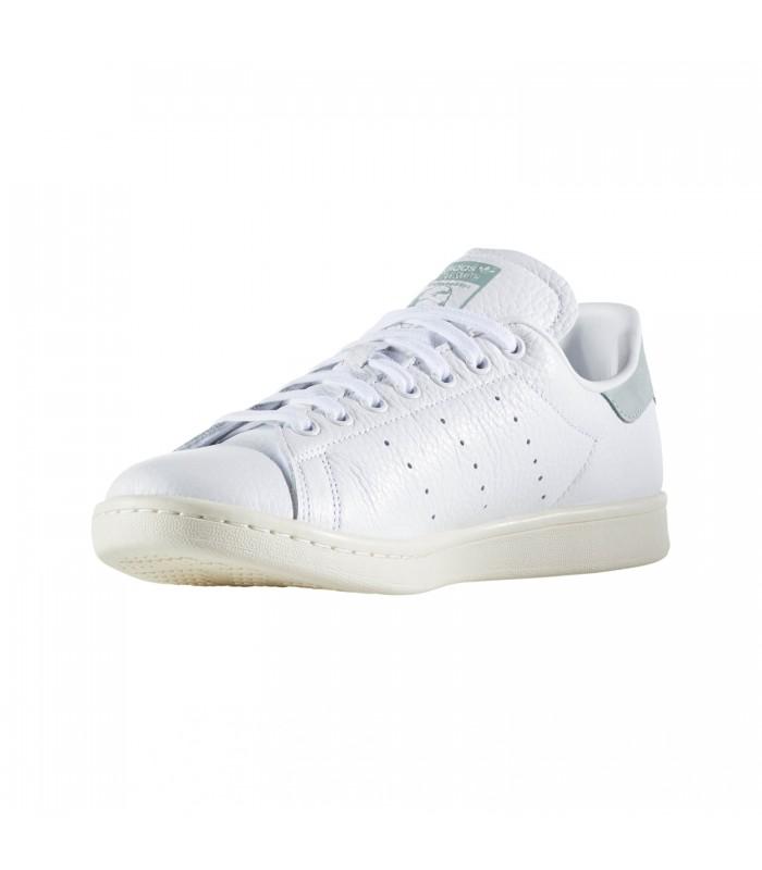 sports shoes 53cd3 3f0e8 ZAPATILLAS ADIDAS STAN SMITH MODA SPORTWEAR MUJER BLANCO VERDEBZ0470