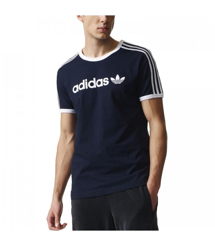Color Para Trefoil Hombre Adidas Linear Marino Azul De Camiseta xpwtqY1Ht 4f7032ac1fd