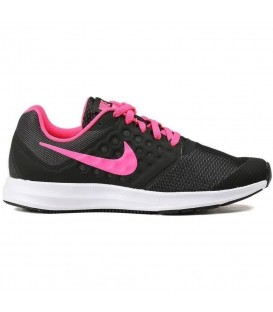 ZAPATILLAS NIKE DOWNSHIFTER 7 GS 869972-002 NEGRO ROSA