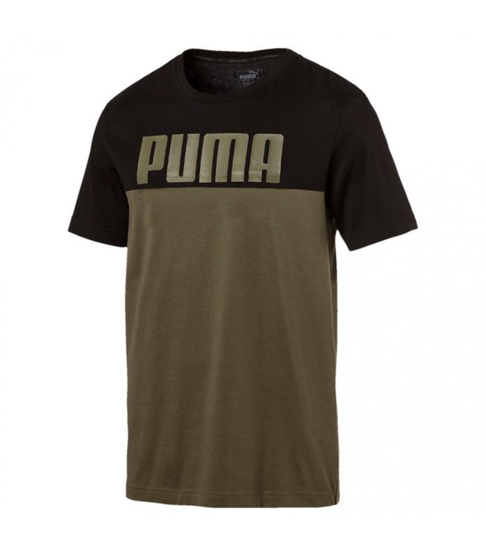 Camiseta de manga corta para hombre Puma Rebel Block