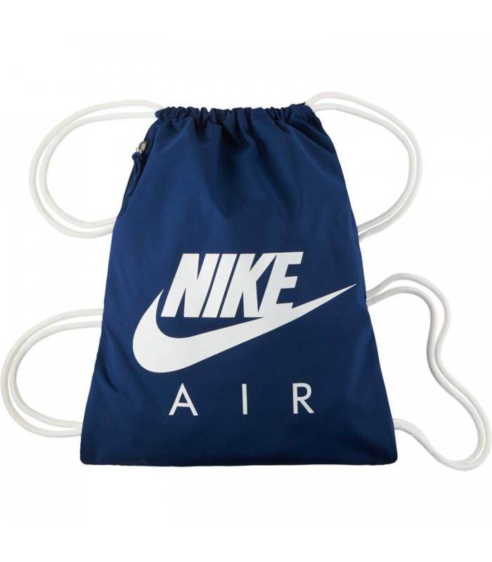 9fe1fb270 Saquito Nike Heritage Gymsack en color azul