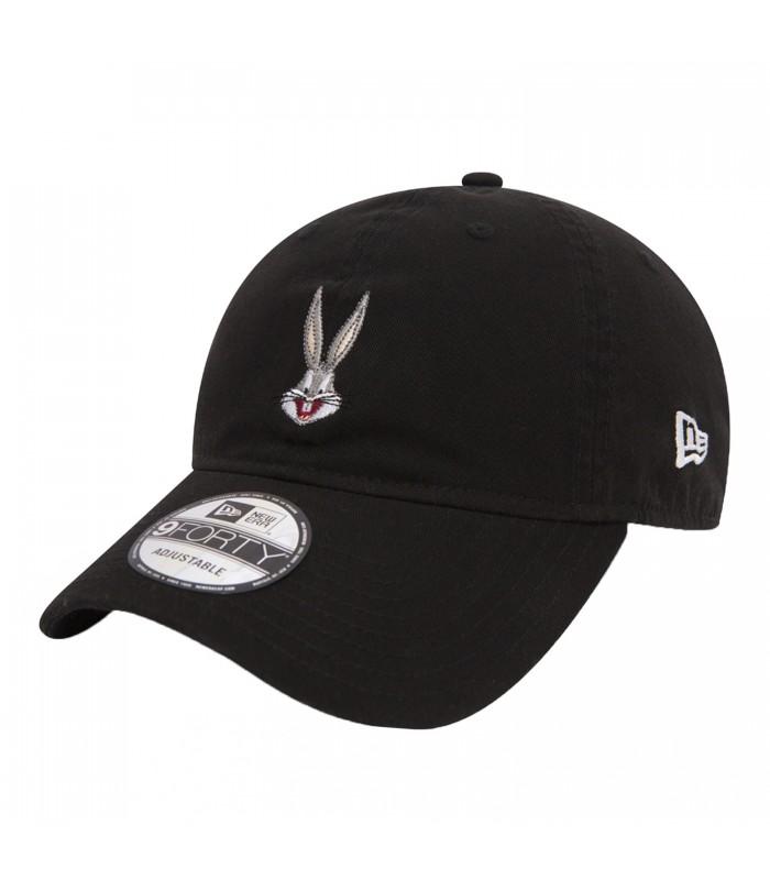 Gorra New Era Looney Tunes Bugs Bunny 9Forty en color negro 998c9dd7686