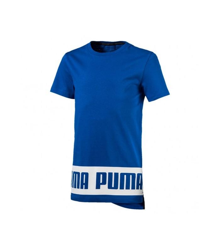 Camiseta deportiva de manga corta Puma Rebel Tee para niño 1bdf333178b46