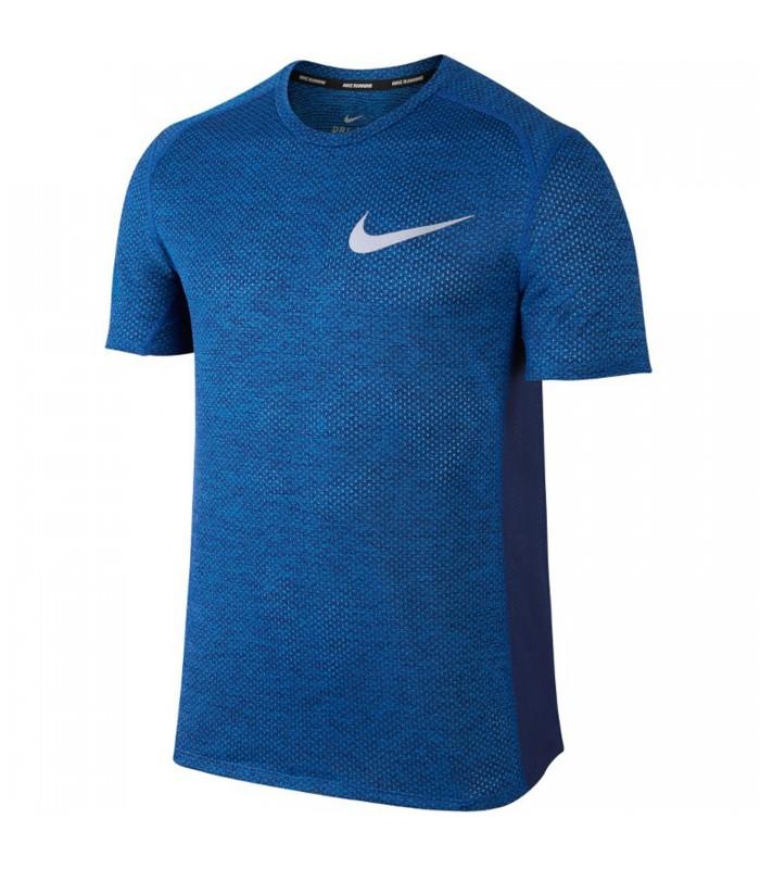 ff60193310ebe Camiseta de running Nike Cool Miler para hombre de color azul.