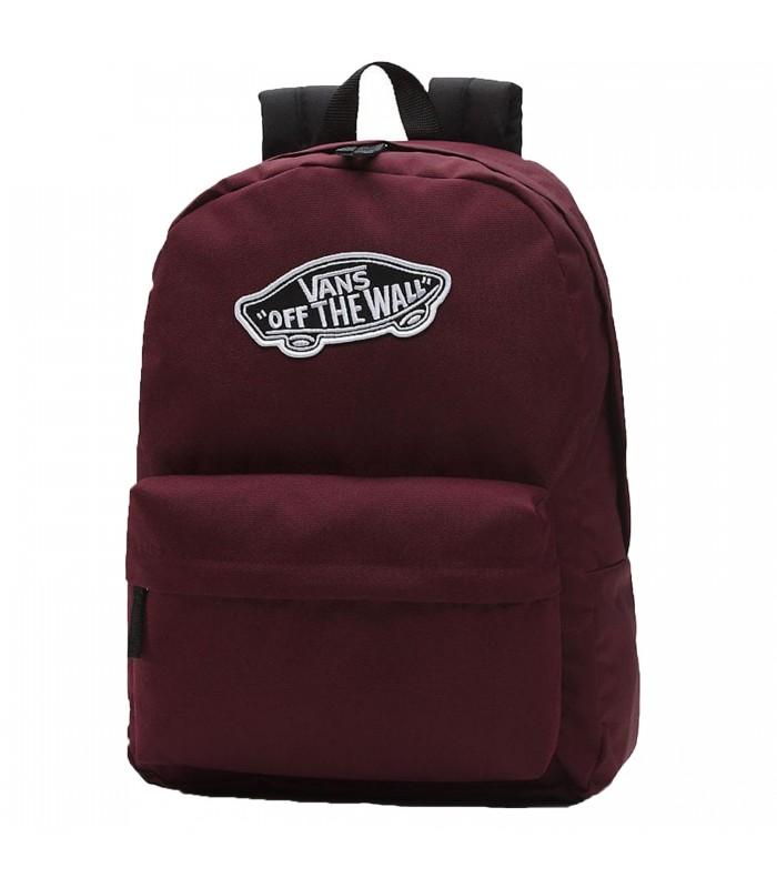 Mochila Vans Realm Backpack en color granate bdf6b659383