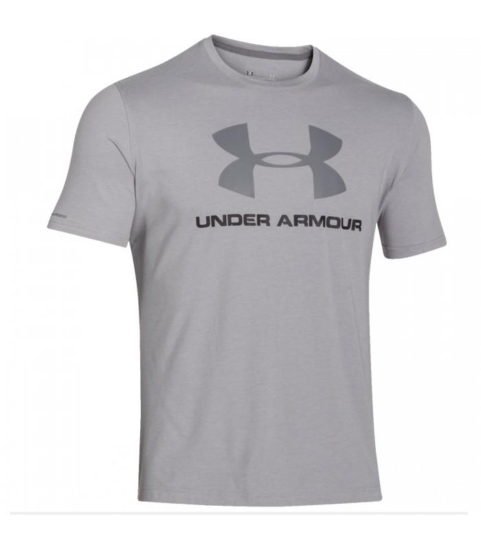 vista previa de auténtico auténtico compra venta Camiseta Under Armour Sportstyle para mujer de color gris