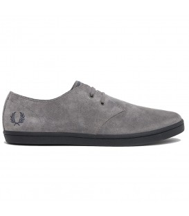 ZAPATOS FRED PERRY BYRON LOW SUEDE B7401C53 GRIS HOMBRE