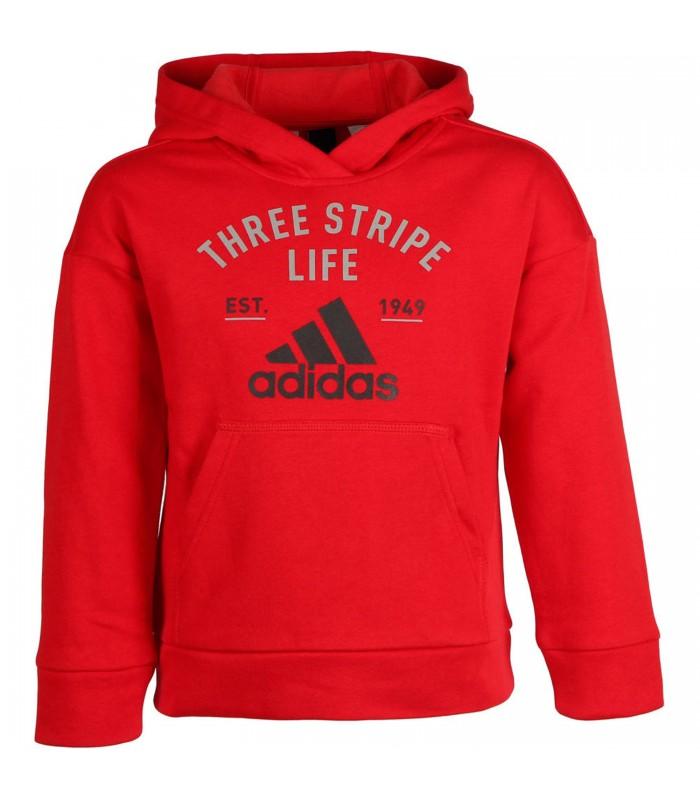 21b866fa3 Sudadera Adidas Kids Graphic Hoodie con capucha para niños