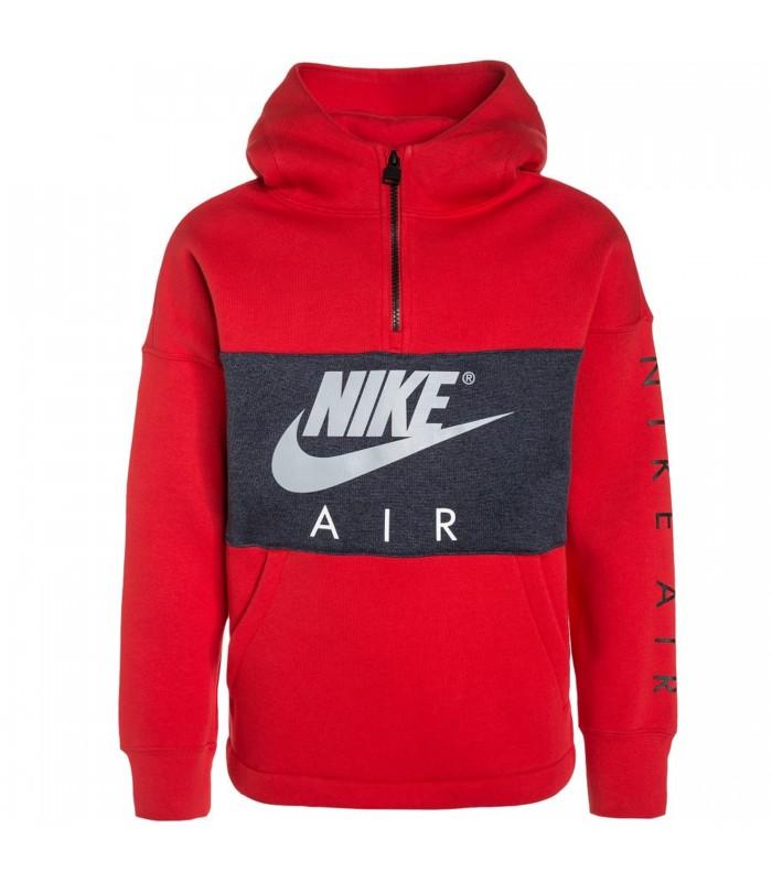sale retailer 8bf76 2a3be Sudadera para niño Nike B NK Air Hoodie HZ Po de color rojo