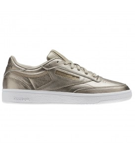 ZAPATILLAS REEBOK CLUB 85 MELTED BS7901 ORO ROSA