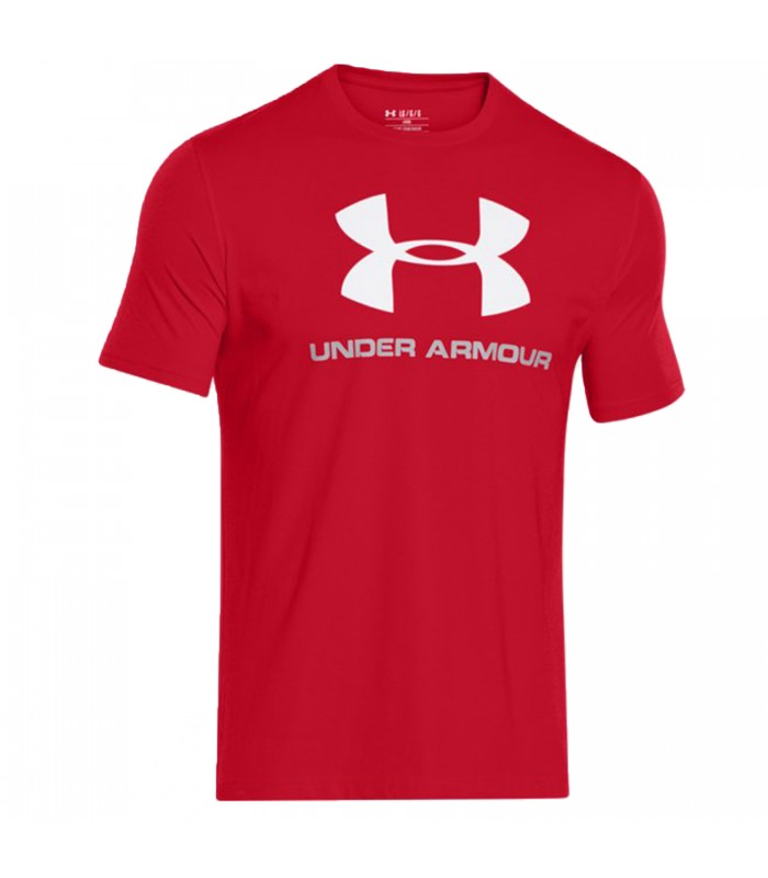 e9d199107e04e Camiseta Under Armour Ua Sportstyle para hombre en color rojo